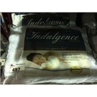 PAIR OF INDULGENCE BY ISOTONIC QUEEN SIZE PILLOWS