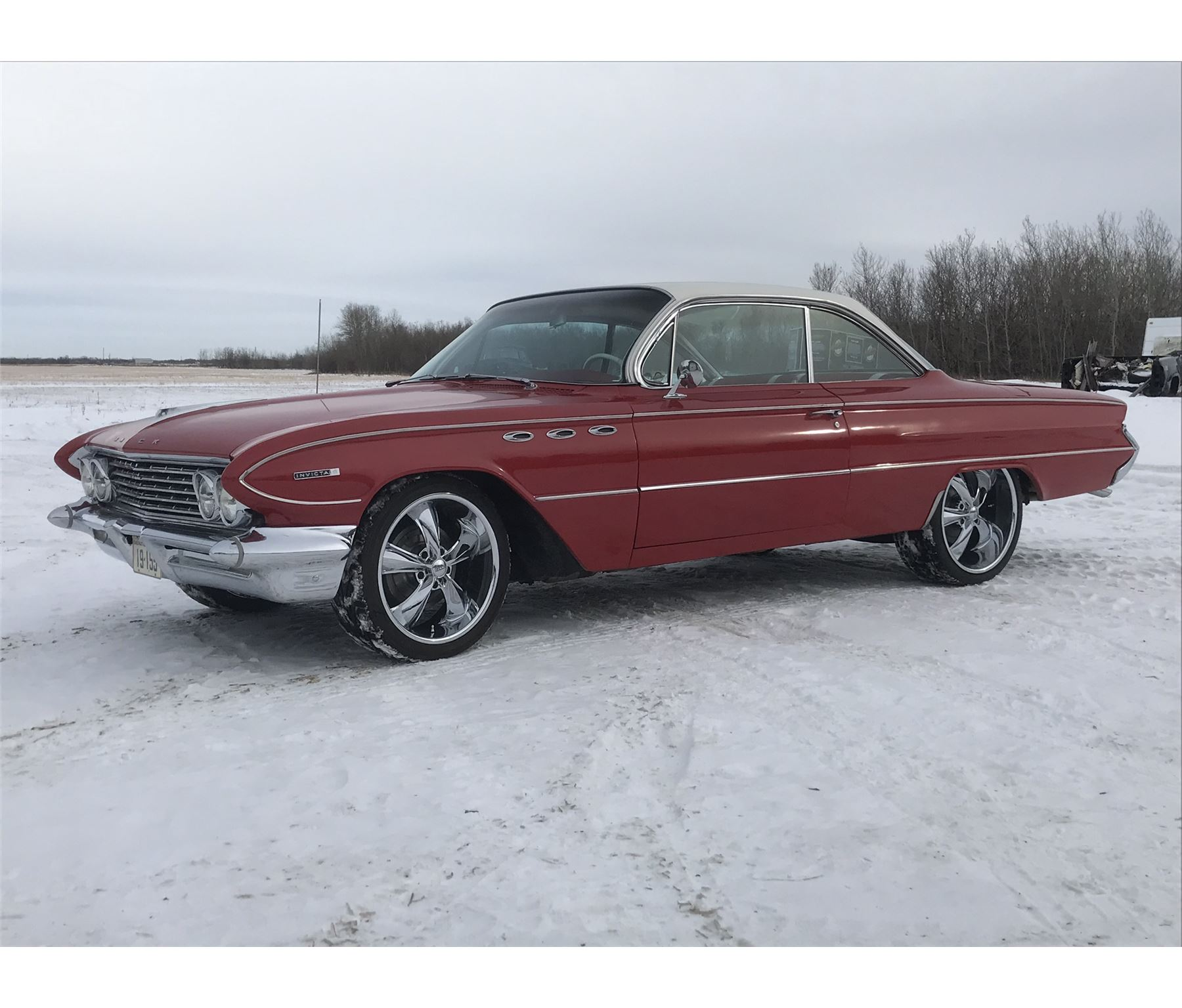 hight resolution of image 1 1961 buick invicta 2 door bubble top