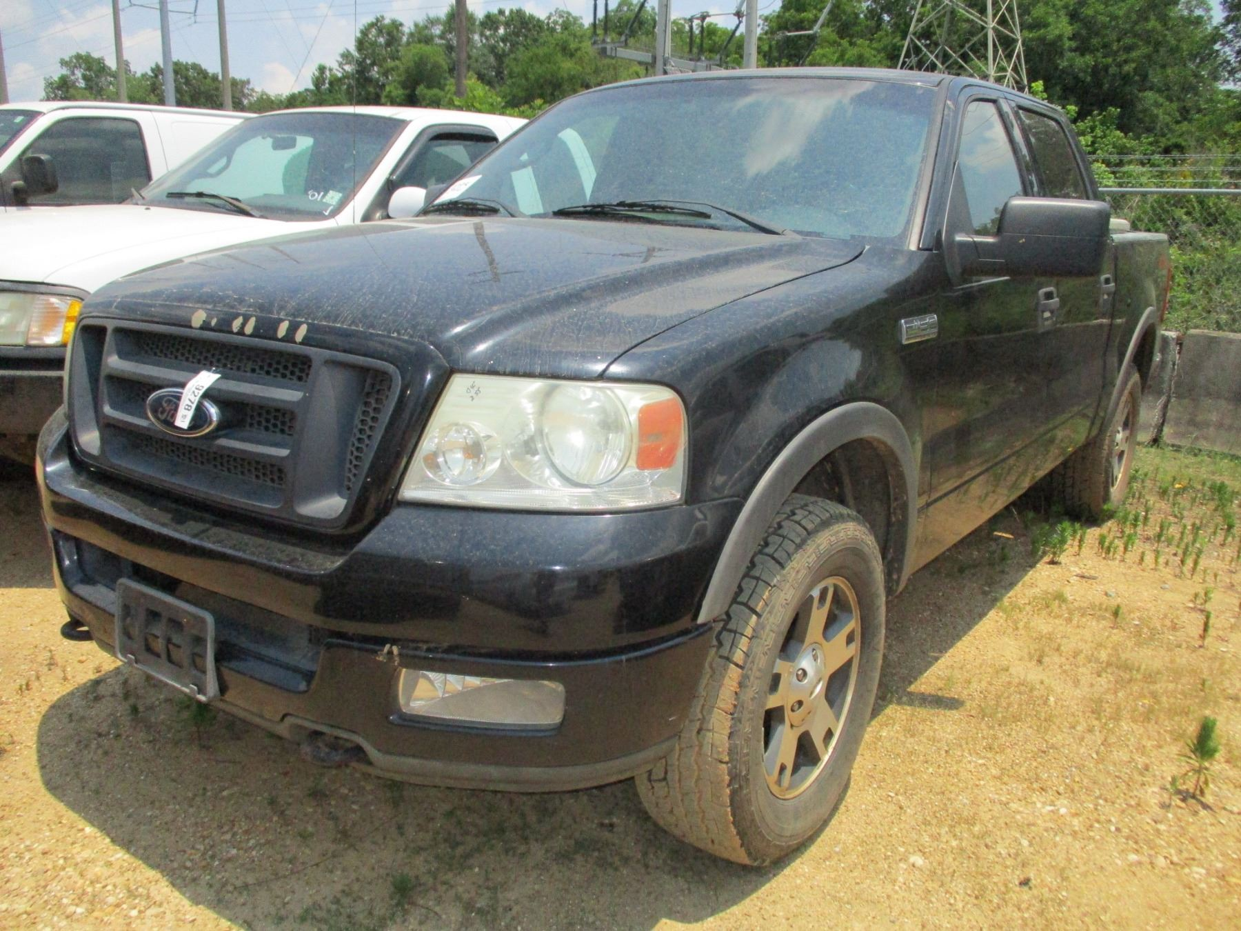 small resolution of image 1 2004 ford f150 fx4 pick up vin sn 1ftpw14594kc30932
