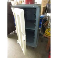 Rolling Rubber Maid Storage Cabinet