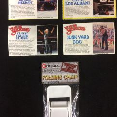 Folding Chair Jokes Office Jumia Wwf Wrestling Superstars Back Cards W Collectible Mini Image 1