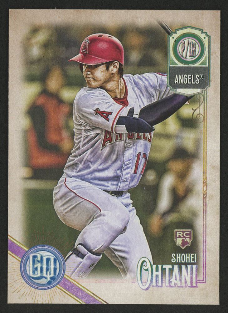 Image result for 2018 topps gypsy queen shohei ohtani