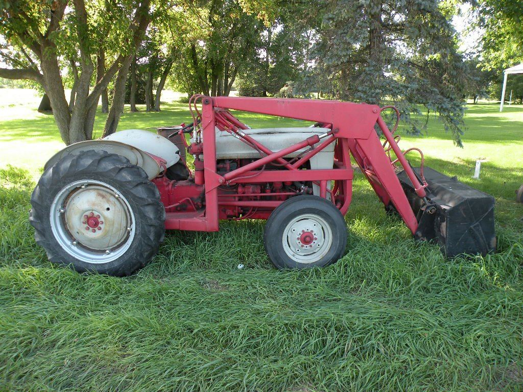 medium resolution of image 1 1953 ford jubilee tractor 3 pt pto with loader and