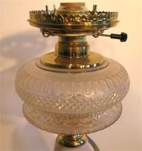 CHINA STEMMED TABLE LAMP