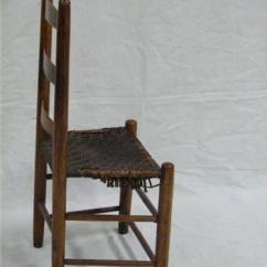 Shaker Ladder Back Chair Bedroom Costco 1870 Ne Woven Leather Seat Image 3