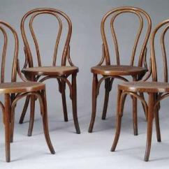 Bentwood Cane Seat Chairs Best Chair Yoga Poses For Seniors Set Of Eight Bent Wood Image 1