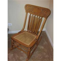 Rocking Chair Cane Back Support For Antique Pressback Seat 1108332 Loading Zoom