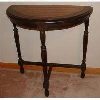 Antique Kiel Furniture Co. Half Moon Side Table#1232650
