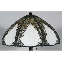 HANDEL OVERLAY TABLE LAMP with seven panels 1