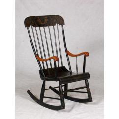 Antique Windsor Chair Identification Portable High Baby Vintage Tall Back Rocking Loading Zoom