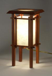 CHERRY STREET JAPANESE-STYLE TABLE LAMP