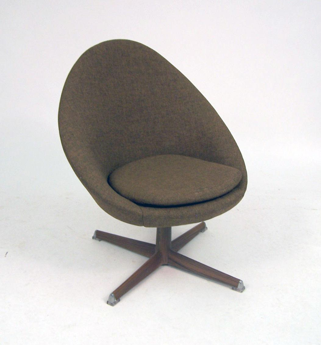 swivel chair egg dining wingback chairs a swedish modern form