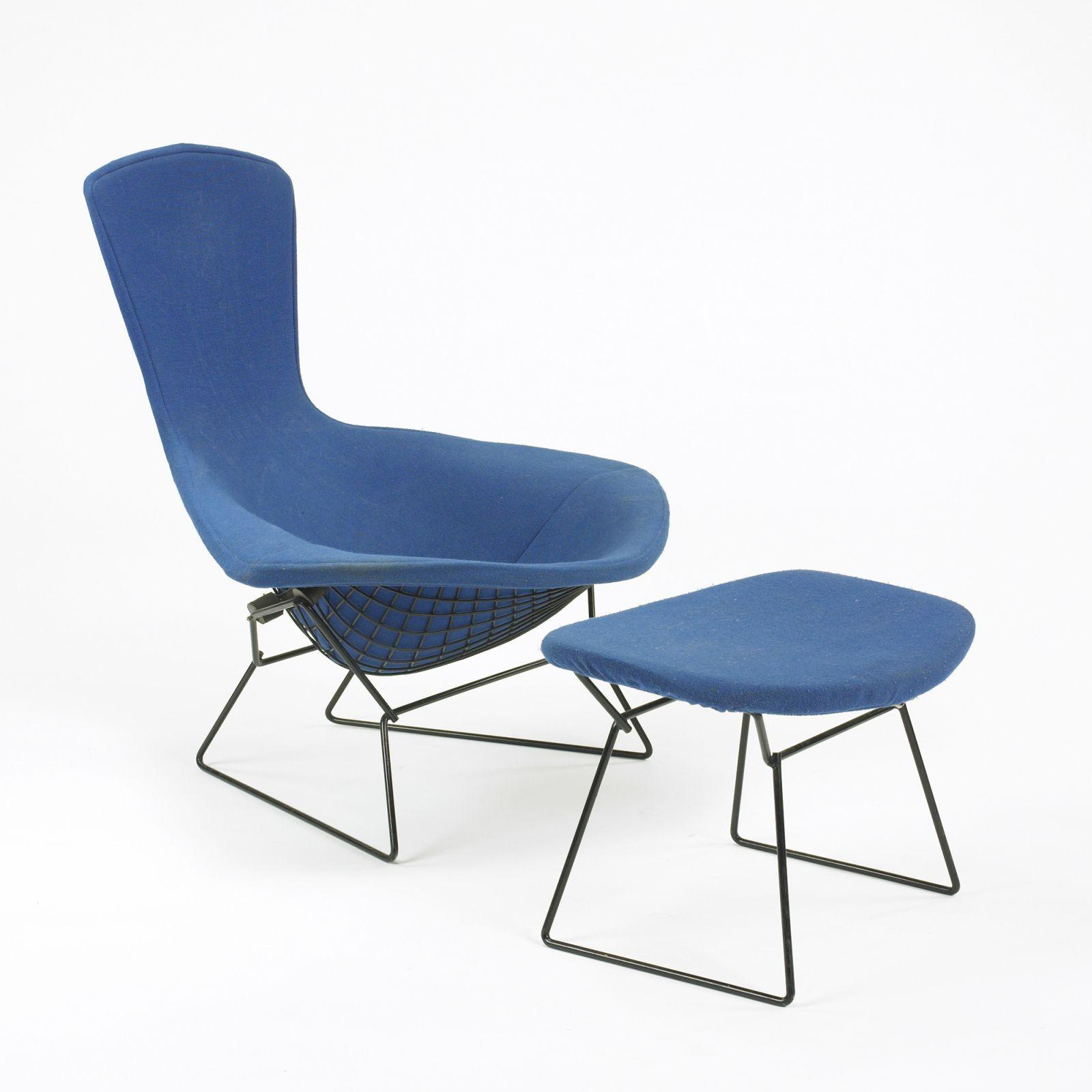 Harry Bertoia Chair Harry Bertoia Bird Chair And Ottoman