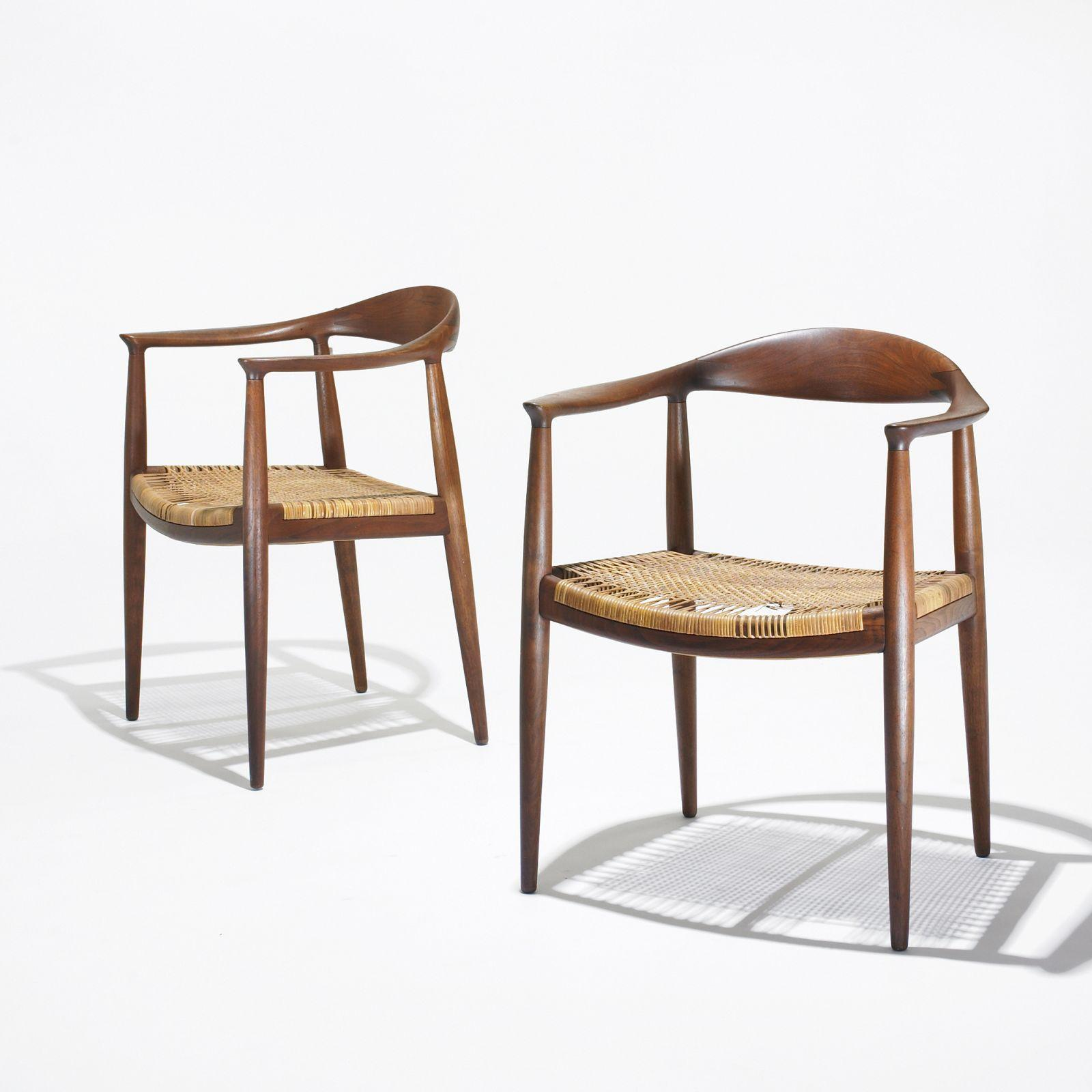 hans wegner the chair shermag glider parts pair