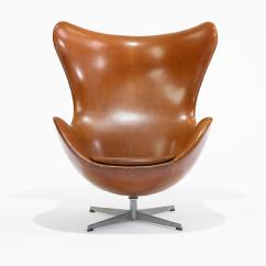 Jacobsen Egg Chair Leather Vintage Shelby Williams Chairs Arne Danish Homestore