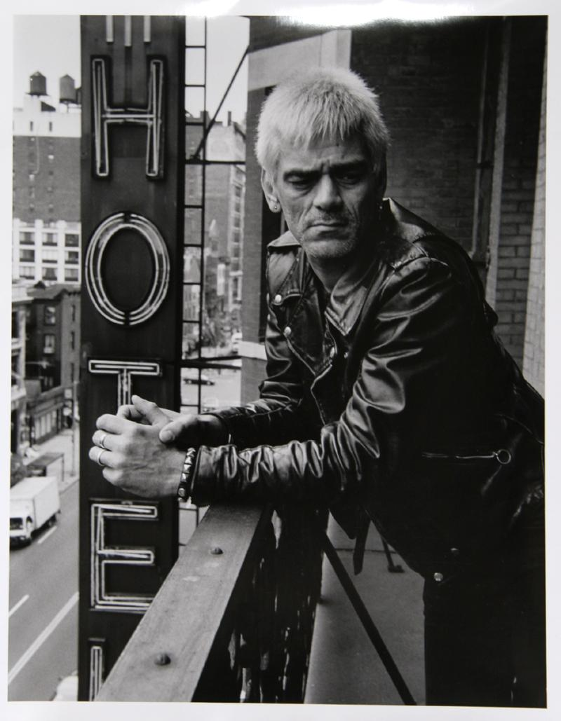 Dee Dee Ramone at the Chelsea Hotel