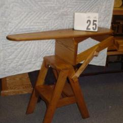 Chair Step Stool Ironing Board Costco Fire Pit Table And Chairs Amish Made Onit Image 1