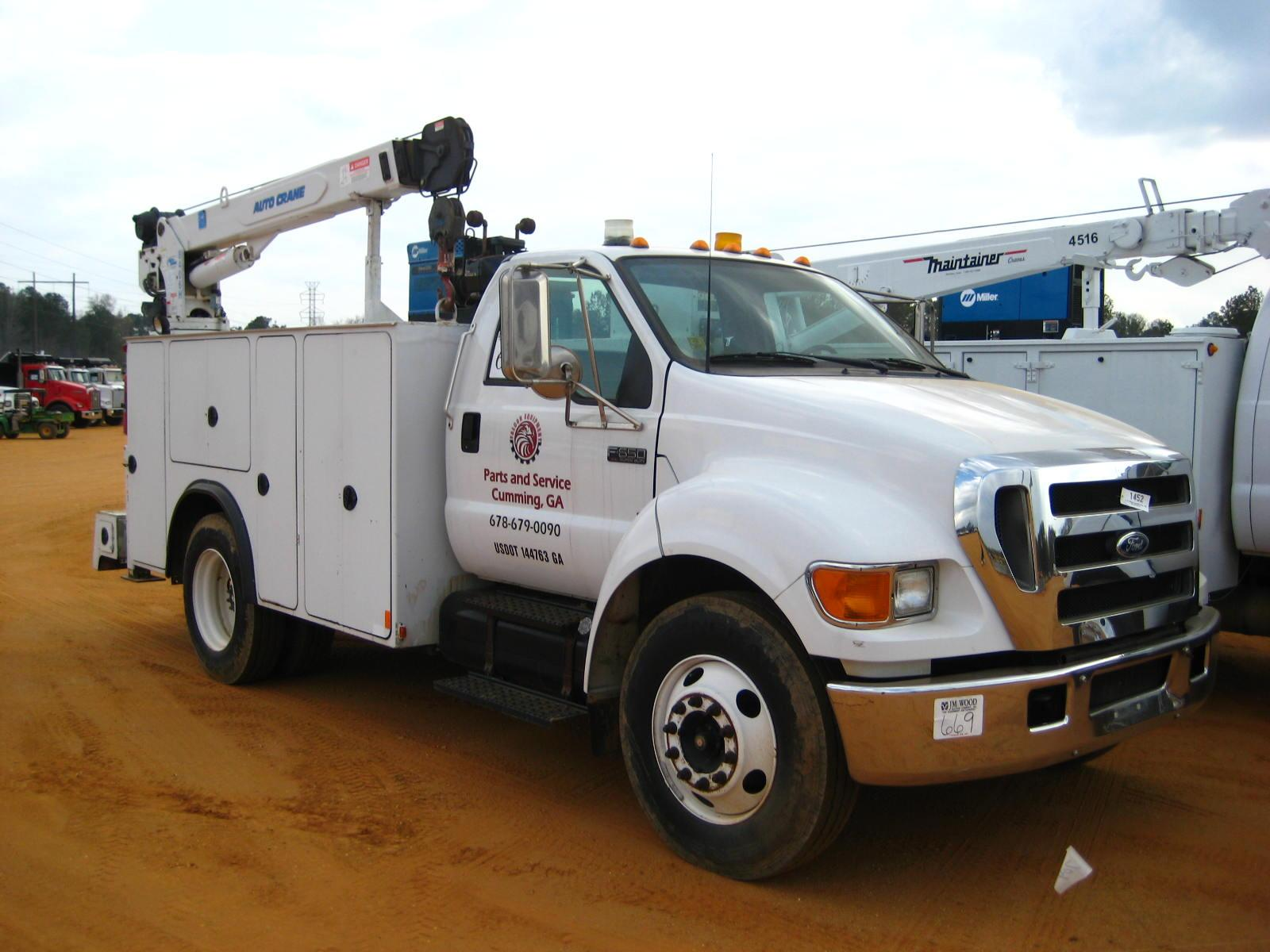 small resolution of image 1 2004 ford f650 super duty s a service truck