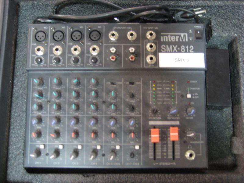 Inter M Smx 812 Mixing Board