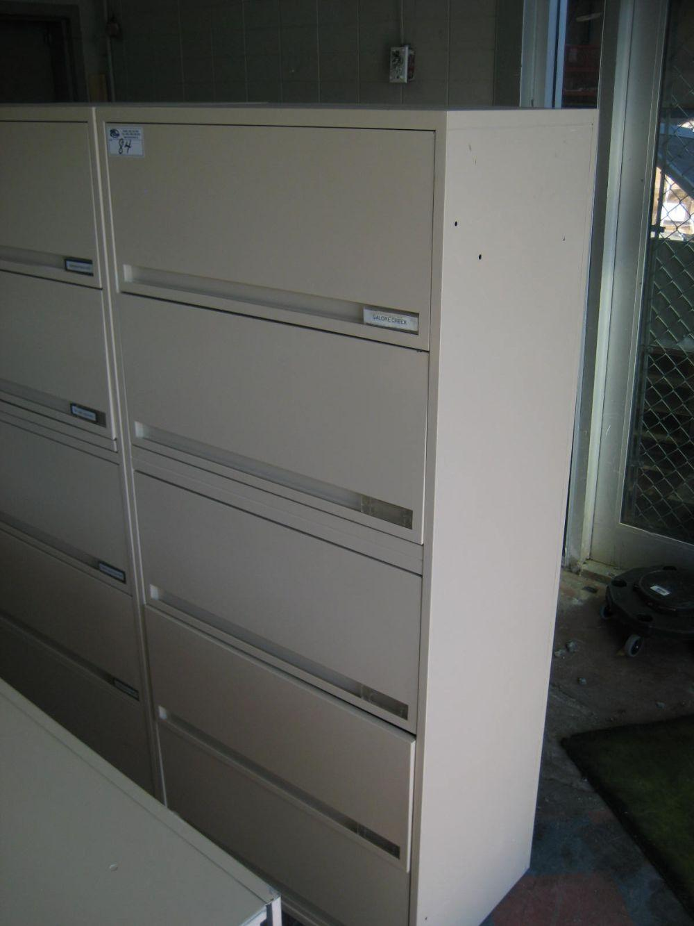 Storwal 5 Drawer Lateral File Cabinet