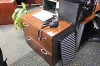 Cherry 2 Drawer Lateral File Cabinet - Able Auctions