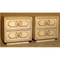Two Chamber Cream Colored Nightstands