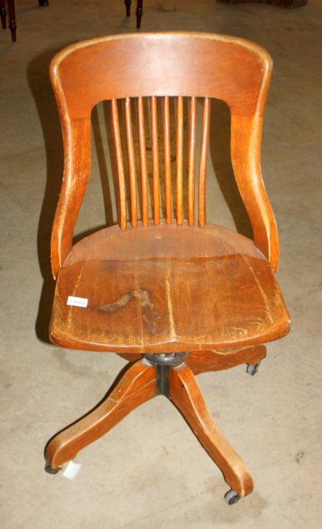old wooden desk chair discount camping chairs vintage wood office