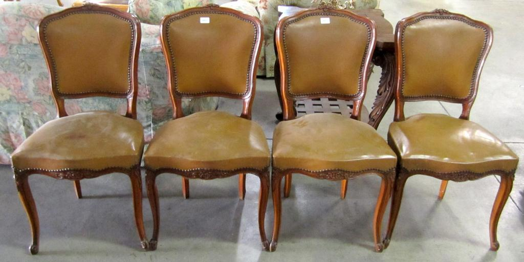 vintage dining room chairs outdoor chair covers walmart lot of 4