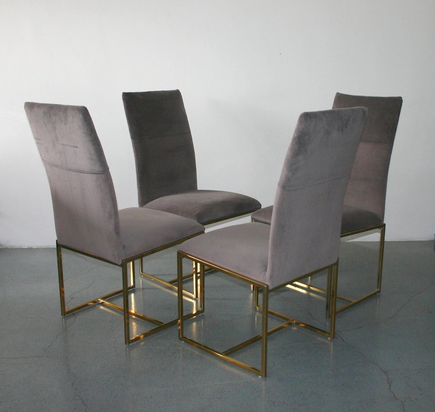 Milo Baughman Chairs Milo Baughman Dining Chairs Set Of 6 C 1950