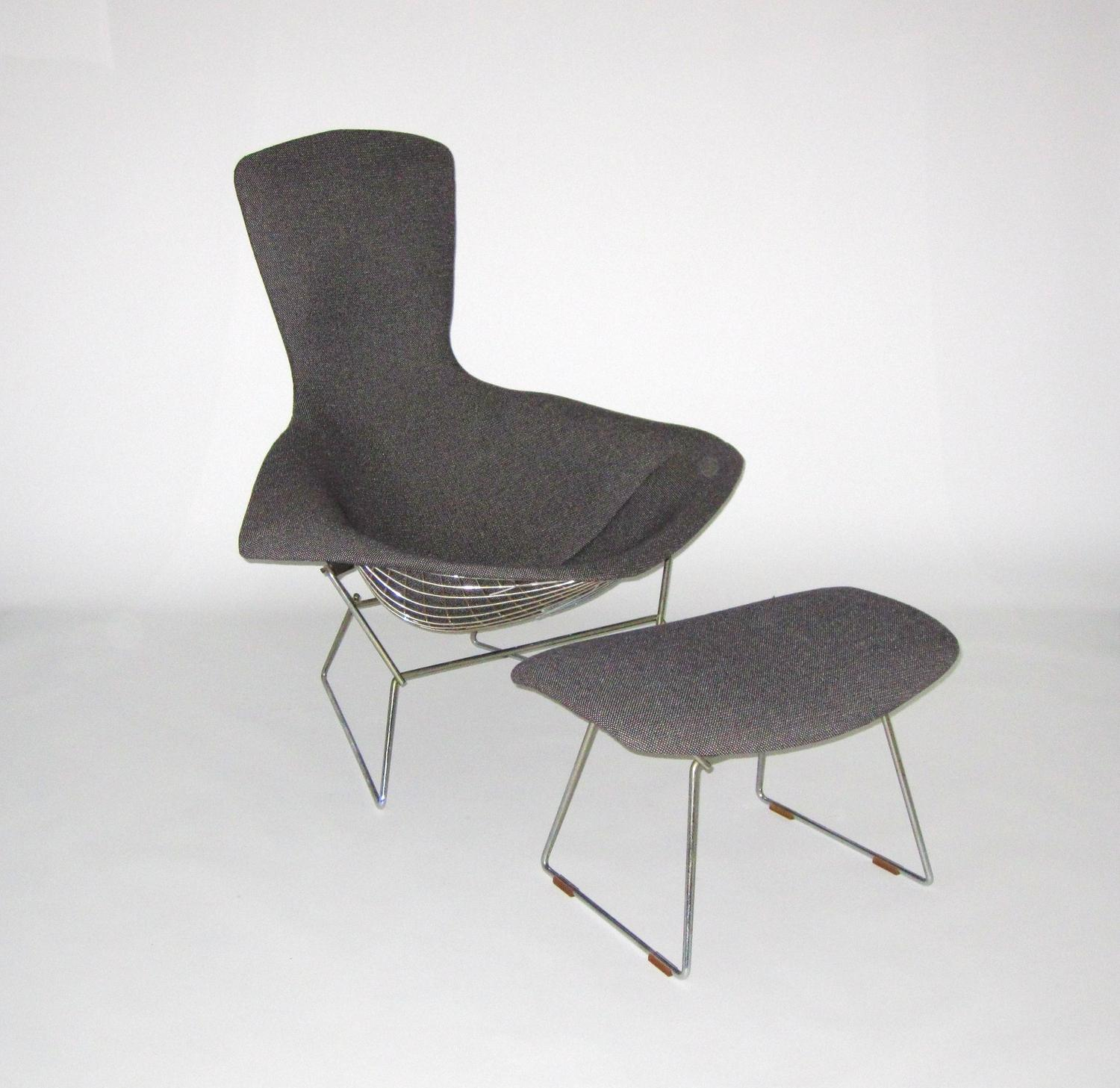 knoll chadwick chair instructions design within reach harry bertoia for bird with ottoman c 1950