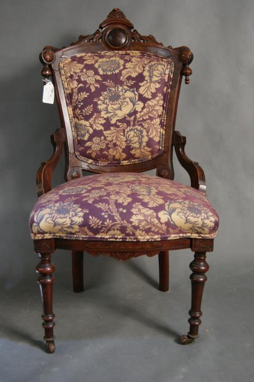 eastlake victorian parlor chairs mestler side chair image 1