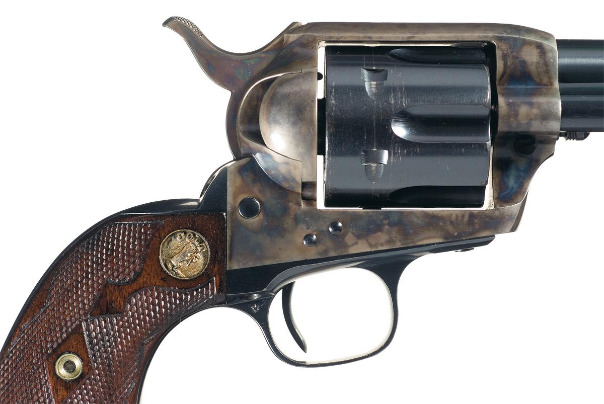 Exceptional Rare Colt Single Action Army Revolver In