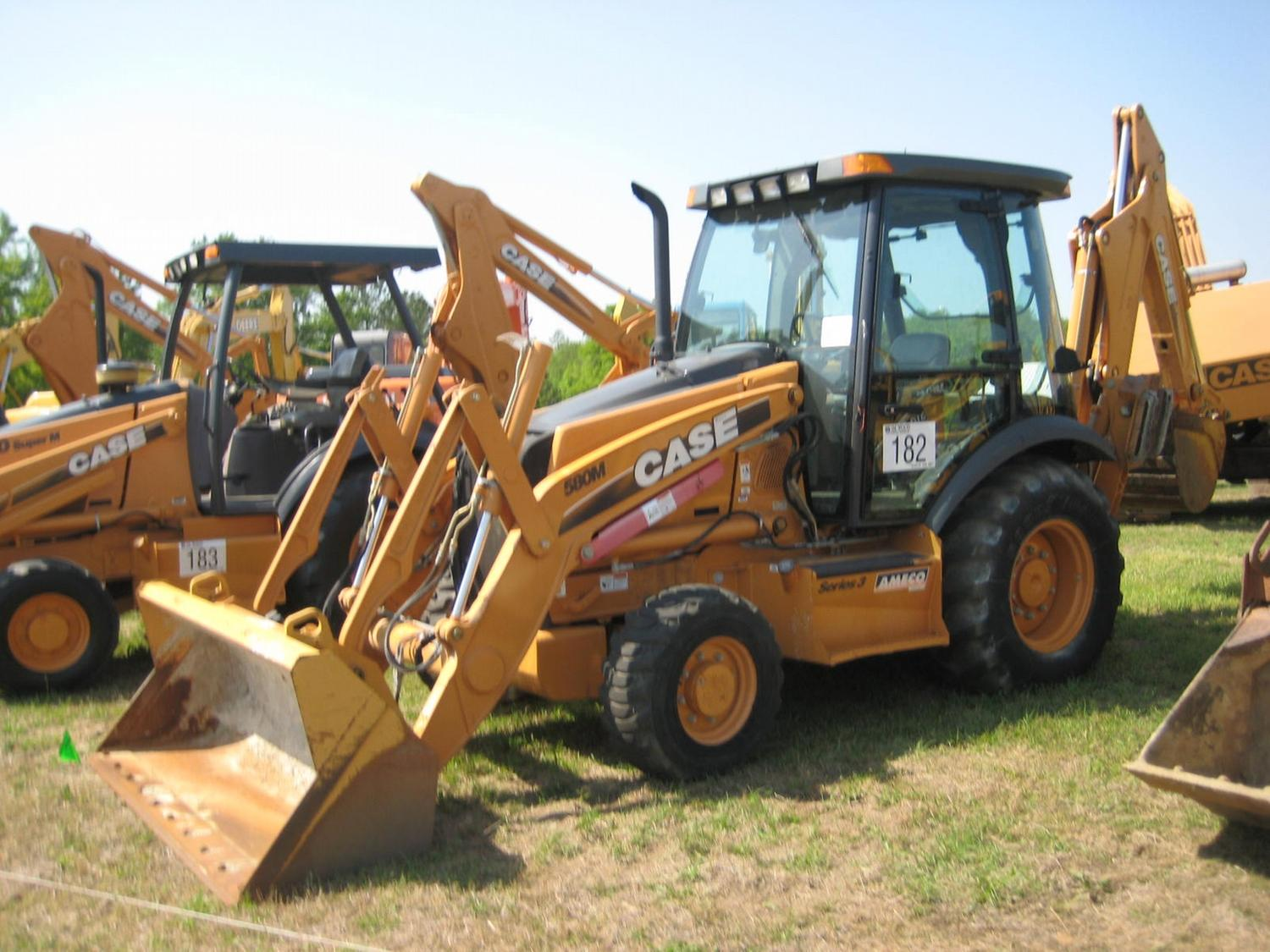 medium resolution of image 1 case 580m 4x4 loader backhoe