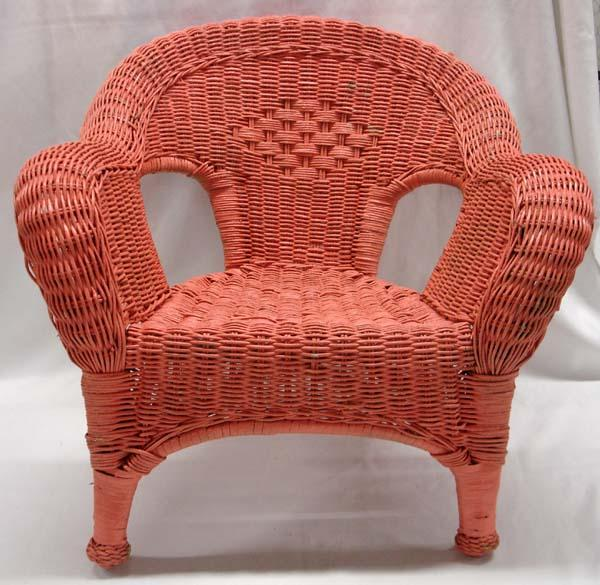 childs rattan chair memory foam bean bag chairs child s wicker loading zoom