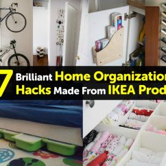 Kitchen Storage Boxes Best Rugs 37 Brilliant Home Organization Hacks Made From Ikea Products