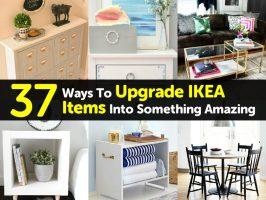 37 Ways To Upgrade IKEA Items Into Something Amazing