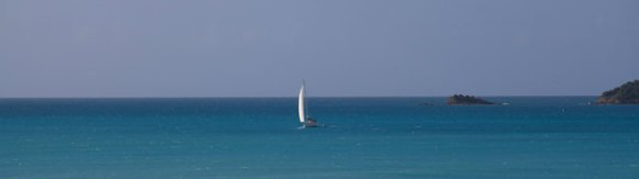 segelbåt, Utsikt från vår balkong på Cocos Hotel, Antigua December 2013
