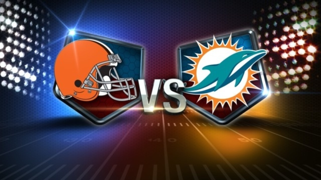 Image result for Cleveland Browns vs. Miami Dolphins