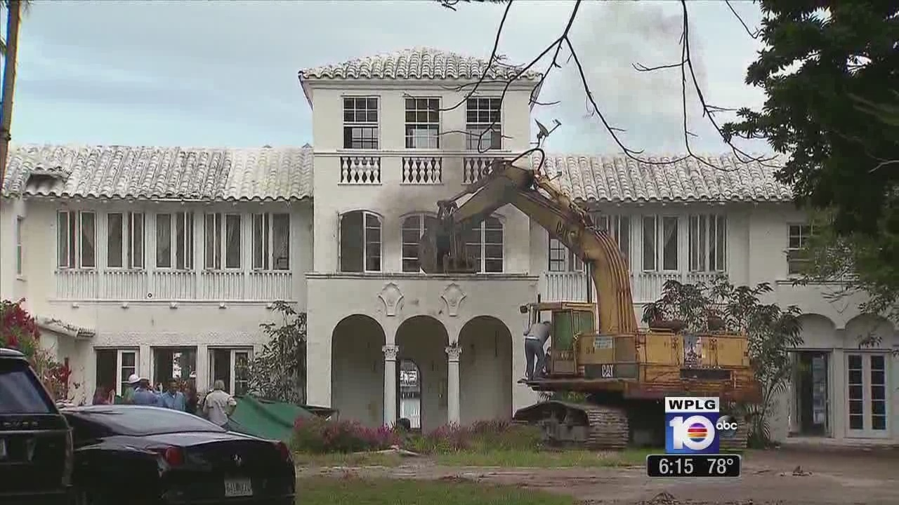 Legal fight to tear down Miami Beach mansion ends