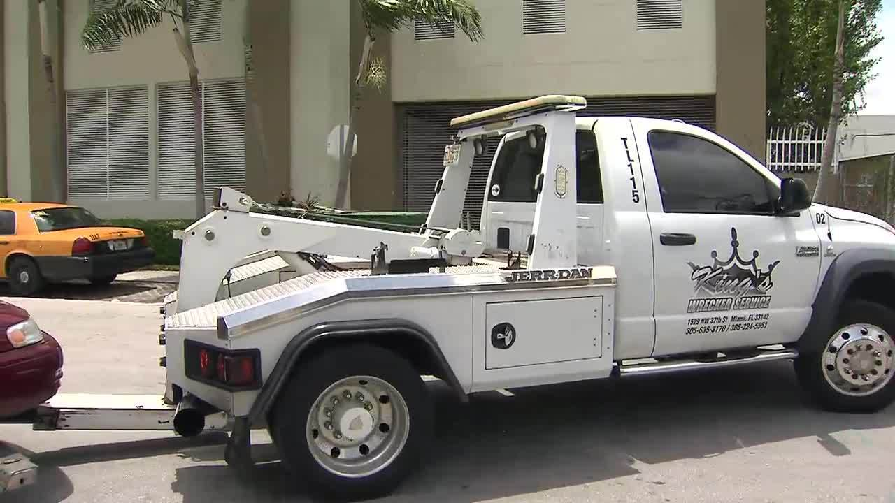 Driver Accuses Towing Company Of Overcharging