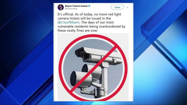 City Of Miami S Red Light Program Ends