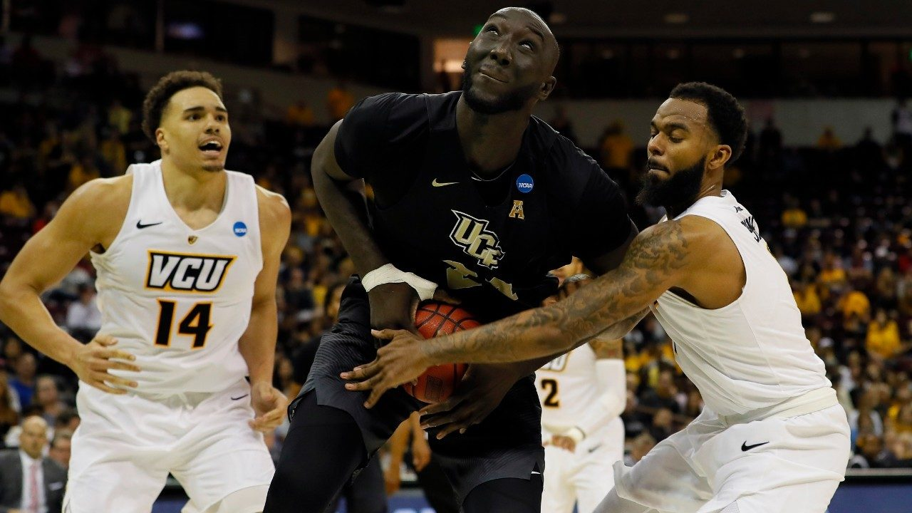 Tall Fall Leads UCF To First Ever Win In NCAA Tournament