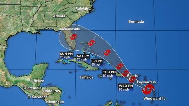 tropical storm dorian s
