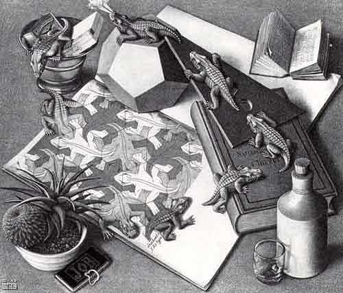 Escher's reptiles