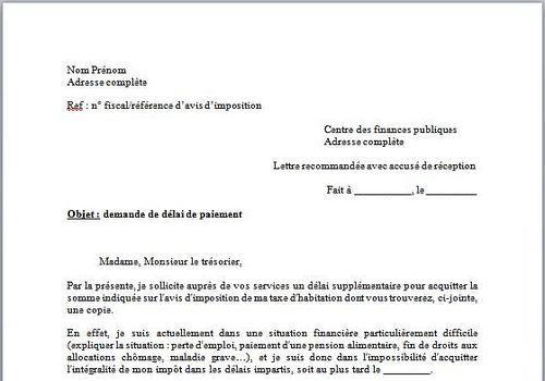 exemple de lettre administrative demande demploi