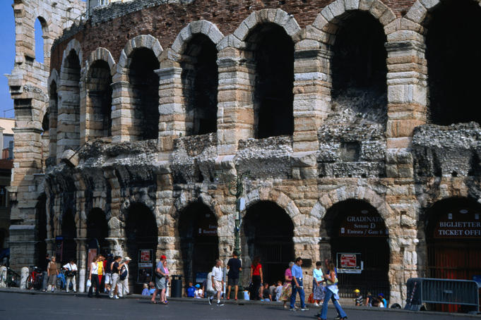 The 2000 year old Arena di Verona.