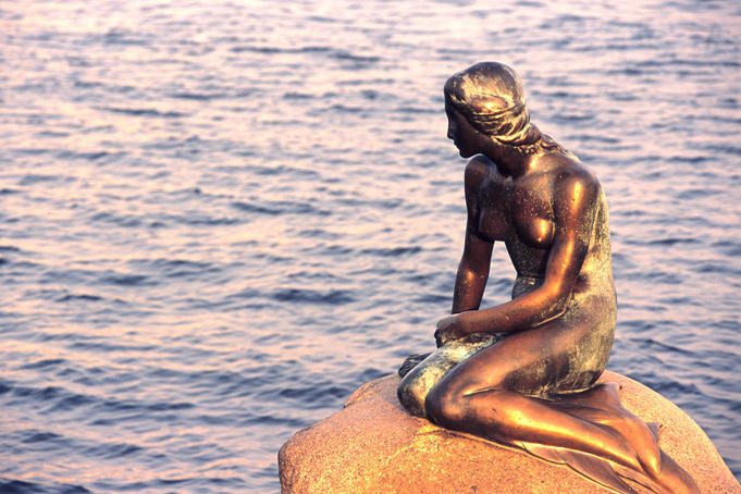 The Little Mermaid statue, Den Lille Havfrue.