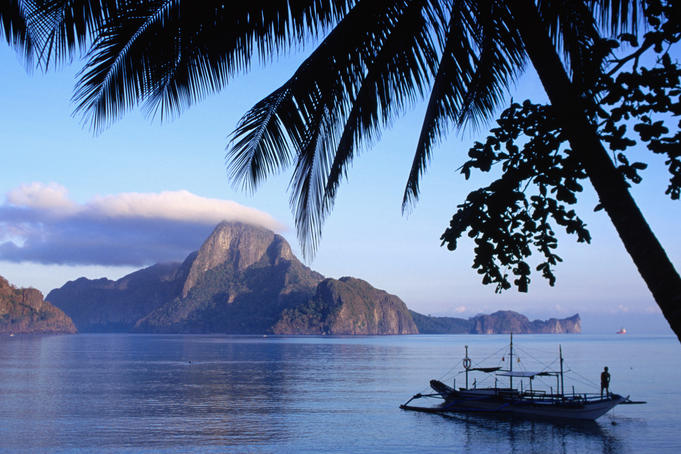 Image of a morning at El Nido Palawan