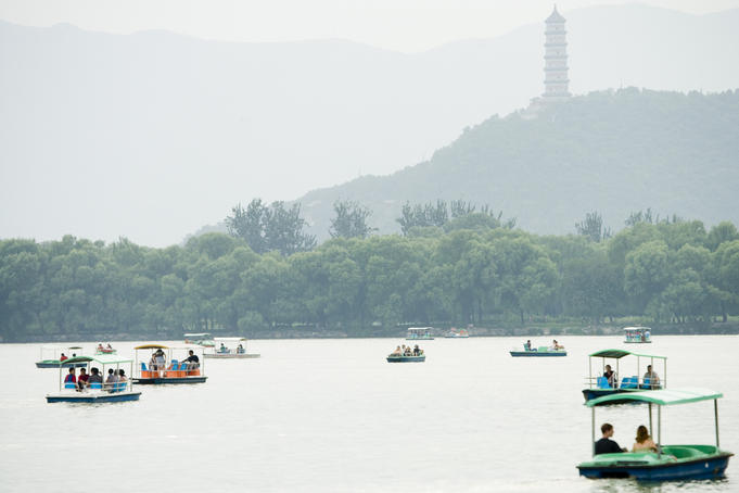 Kunmin Lake, Summer Palace.