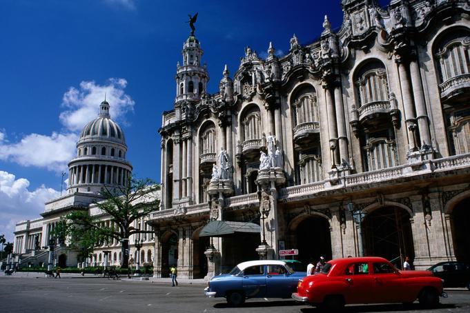 Gran Teatro de la Habana and Capitolio Nacional.